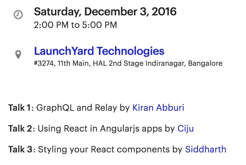 Come and learn how to style your React components!