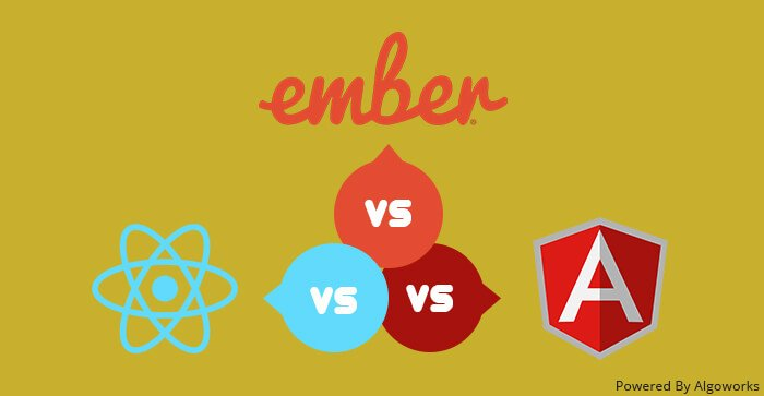 Choose the right #JavaScript development framework: #AngularJS, #ReactJS, #EmberJS!