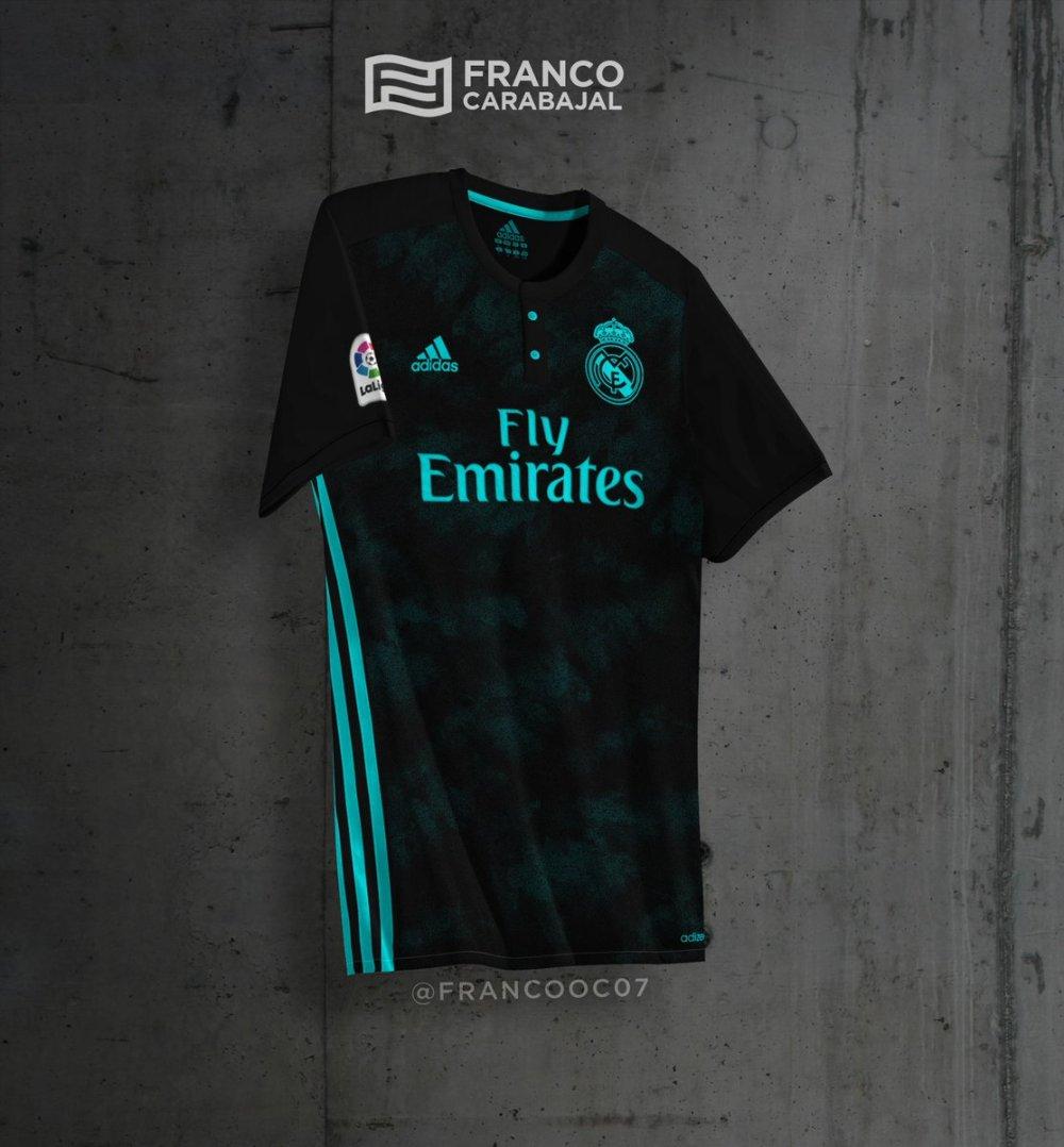 aeb337f3704f5 Sorpresa en la nueva camiseta del Real Madrid 2017 18 - Correo del Deporte