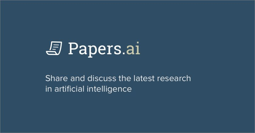 Papers.ai - Facilitating collaboration and discussions around the latest research in #AI