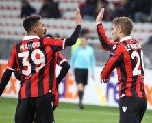 Video: Nice vs Krasnodar