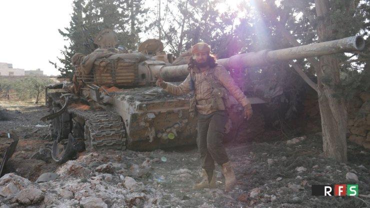 "CzeKXG4WgAEcT39 Анализ опыта и тактики боевого применения танков ""Халифата"" в Сирии и Ираке"