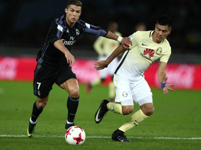 Goles del América vs Real Madrid: Cristiano Ronaldo.