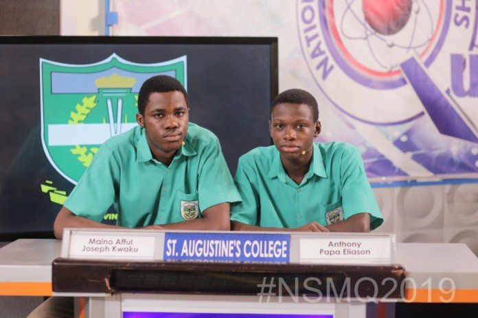 NSMQ2019: ''BIG BOYS' to face each other for the title on Thursday 1