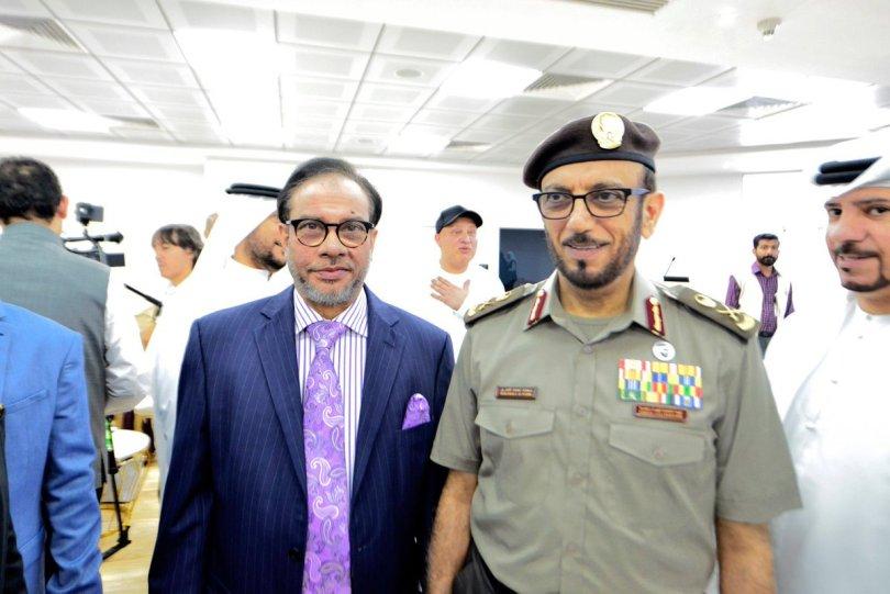 "Mahtabur Rahman on Twitter: "".@MahtaburRNasir, Chairman & MD – @alharamain ?️ Group with Major-General Mohammed Ahmed Al Marri, DG of the General Directorate of Residency & Foreigners' Affairs, @GDRFA Dubai at the"