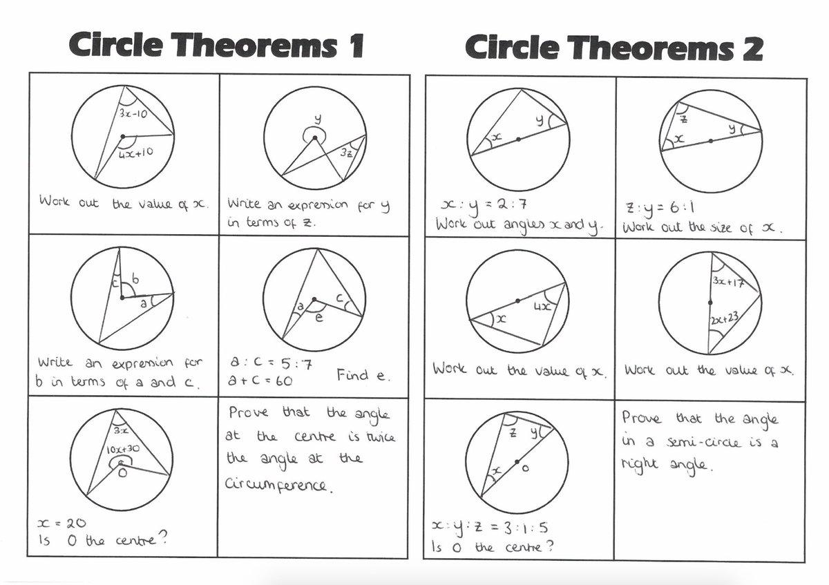 Circle Theorems Quiz
