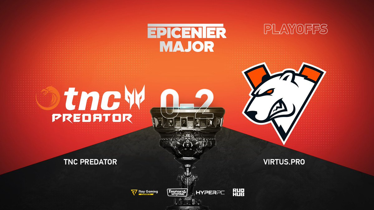 TNC Predator vs Virtus.pro EPICENTER Major 2019