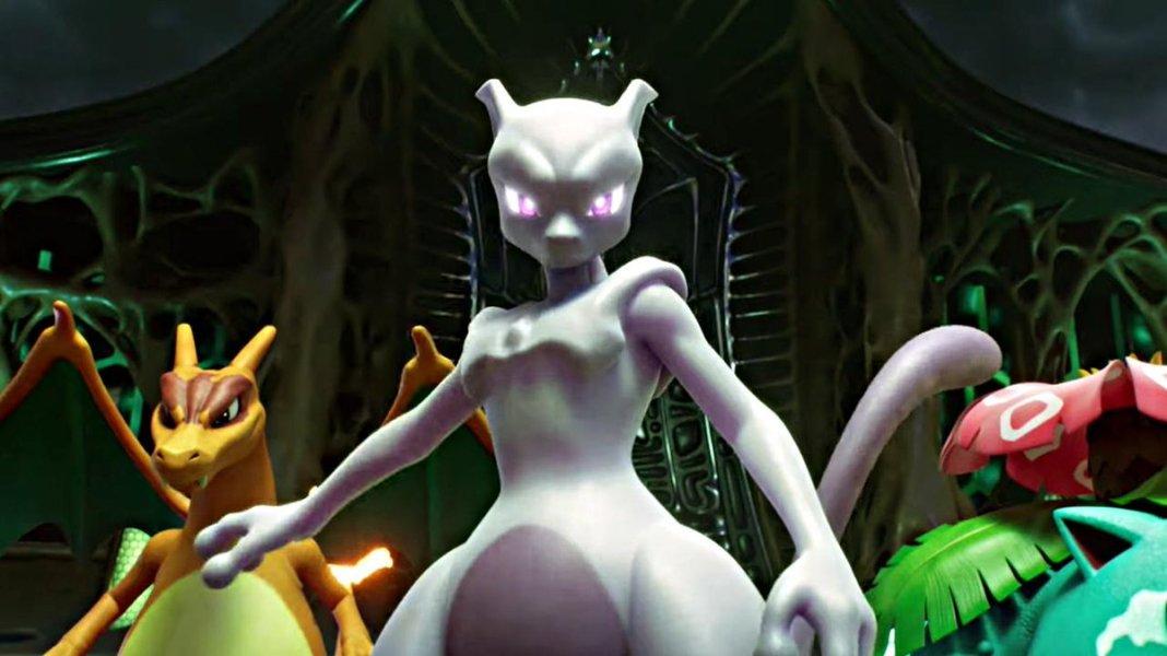 Resultado de imagen para pokemon mewtwo strikes back evolution}