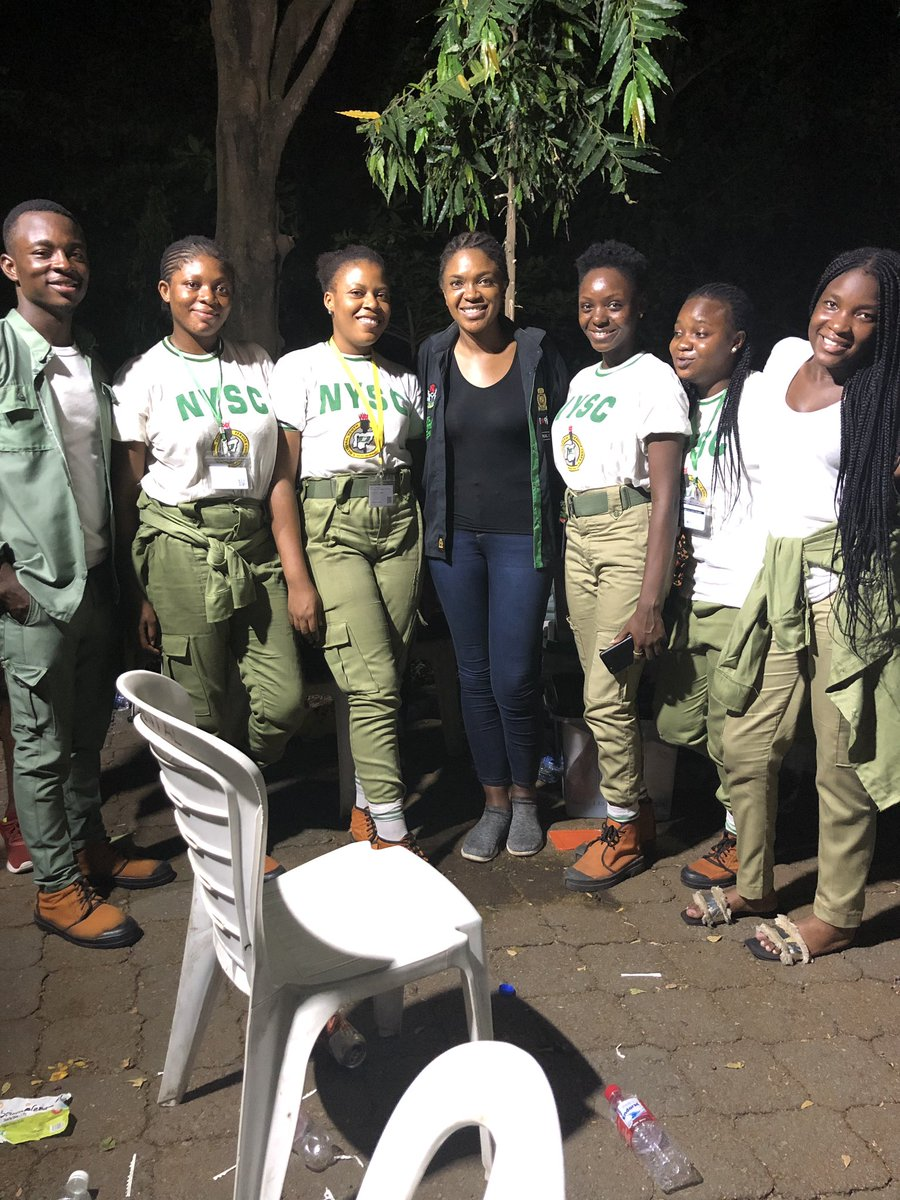 D0IMrNTXQAA7uAN - Nollywood Actress, Omoni Oboli, Seen Around Her Polling Unit As Late As 1.00am(Picture)