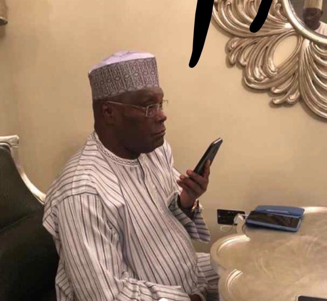 """D0WE6EqX0AEEigq - """"Right Now I Think Atiku Should Make The Call"""" – Nigerians Say After Buhari Opened A Wide Gap With Just 9 States Left To Be Declared"""