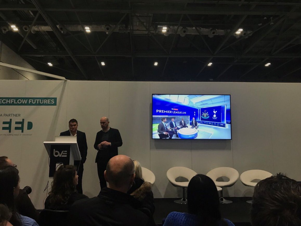 test Twitter Media - Enjoying hearing about Studio VR with @SkySports & TechFlow Futures @BVExpo https://t.co/5PjptsqH9l