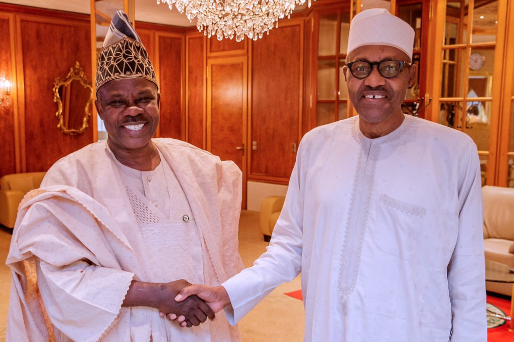 D0viNfQW0AAVw6o - After suspension from APC, Amosun visits Buhari