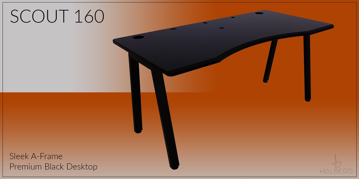 Halberd On Twitter Need An Incredible New Desk For Your Setup Then Look No Further Than Our Halberd Desks Each Halberd Desk Has An Ergonomically Designed Powder Coated Desktop And A Strong But