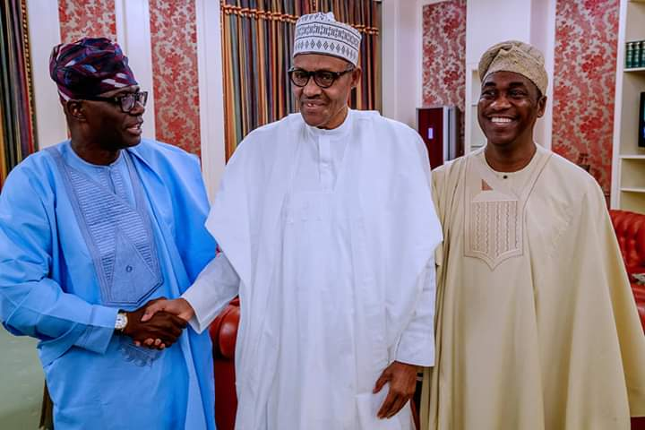 D19HpWGW0AUNYO7 - Lagos State Governor Elect, Babajide Sanwo-Olu, Shares The Outcome Of His Meeting With Buhari