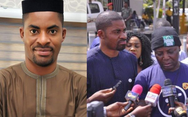D1iZ4vvWsAMdeKG - [Nigerians React]: Charly Boy Betrayed Me While I Was In Prison – Deji Adeyanju