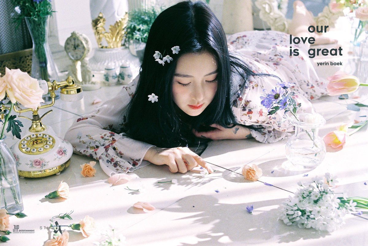 Image result for baek yerin our love is great site:twitter.com