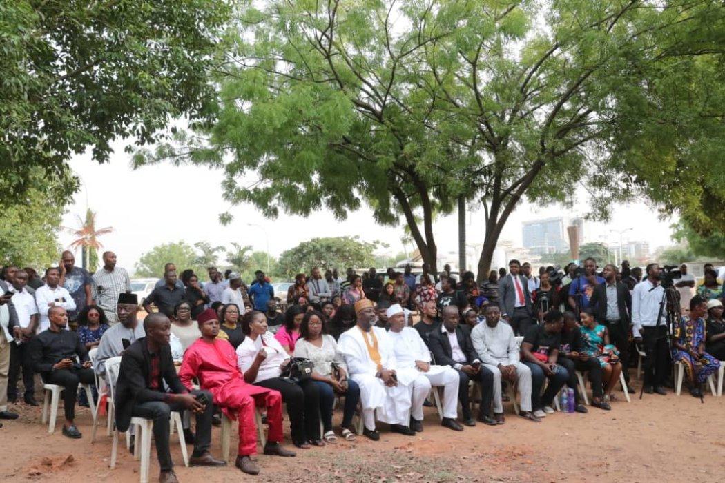 D1jlEVAWoAEmI5f - Ethiopian Airline Plane Crash: Senate President Bukola Saraki Leads Candlelight Procession For Late Pius Adesanmi(See Photos)
