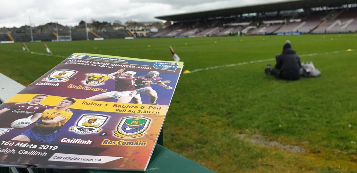 test Twitter Media - Rain has lifted in Galway. Galway v Wexford live on TG4 from 1pm. Throw in here at Pearse Stadium 1.30pm. With the Waterford v Clare game to follow immediately after.  @GAA_BEO @SportTG4 @nemetontv https://t.co/eUrG05O1RY