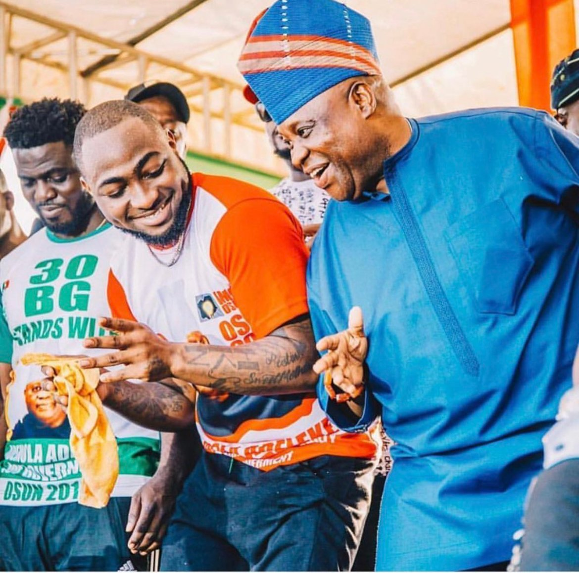 D2RPju6X0AA MzV - What Davido Said After Tribunal Declares His Uncle, Ademola Adeleke, Is A Must Read