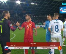 Video: Slovenia vs FYR Macedonia