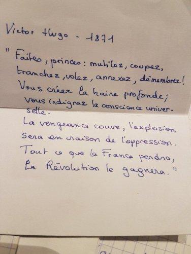 """François Ruffin a Twitter: """"""""Faites, princes : mutilez, coupez, tranchez,  annexez, démembrez ! Vous créez la haine profonde, Vous indignez la  conscience universelle. Tout ce que la France perdra, la Révolution le"""