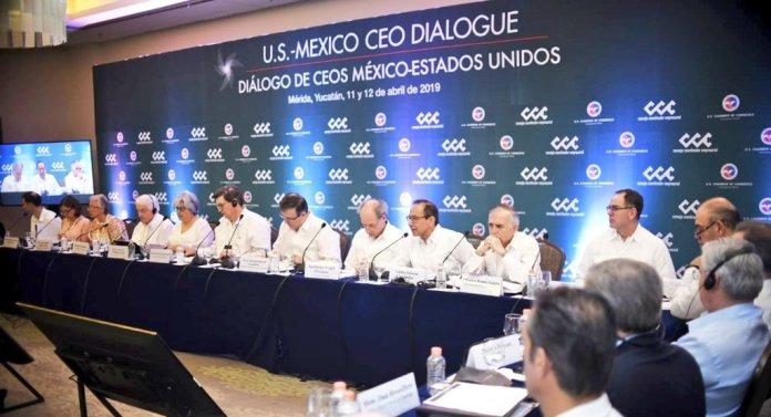 Image result for Cumbre empresarial México-EU