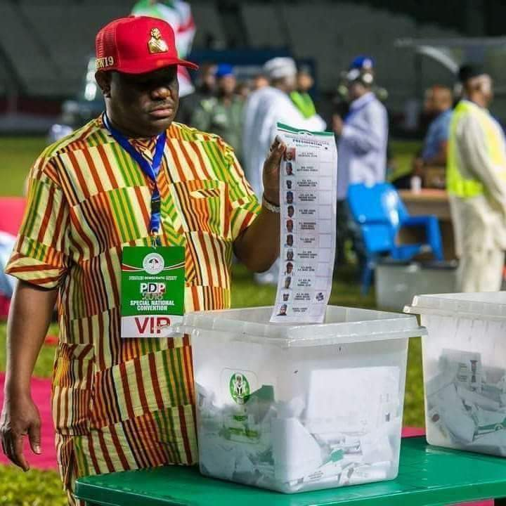 D3JdtV XcAEVoVX - RiversDecides: Outcry As Wike Opens A Wide Margin Lead