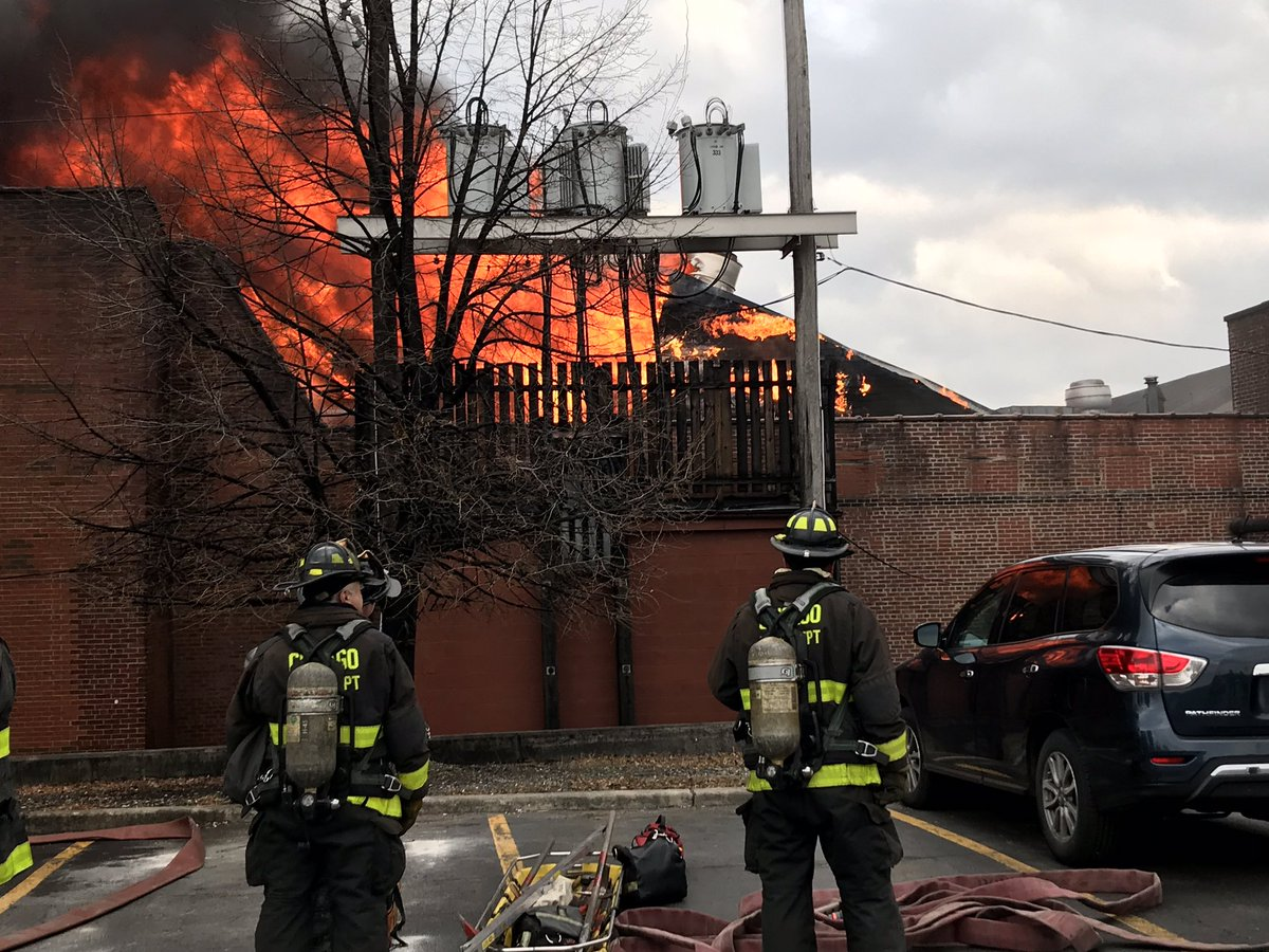 5-Alarm Commercial Fire