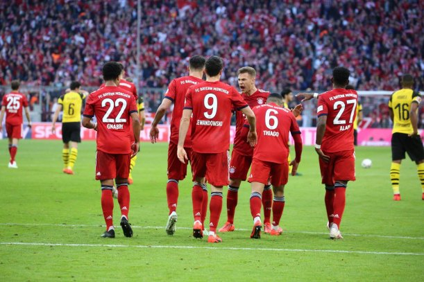 FC Bayern Munich 5-0 Borussia Dortmund Highlights Video