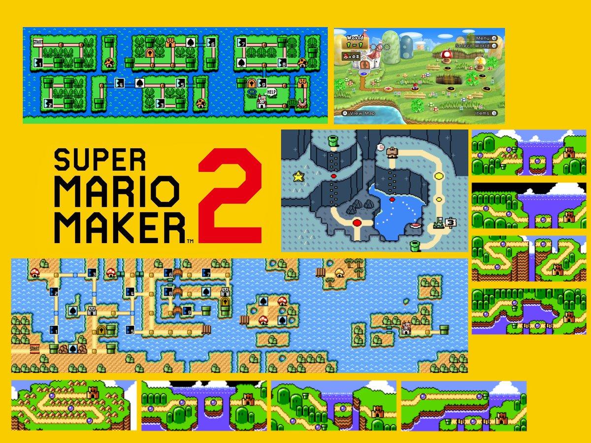 "Super Mario Maker 2 ""World Maker"" mode to let you build entire games"