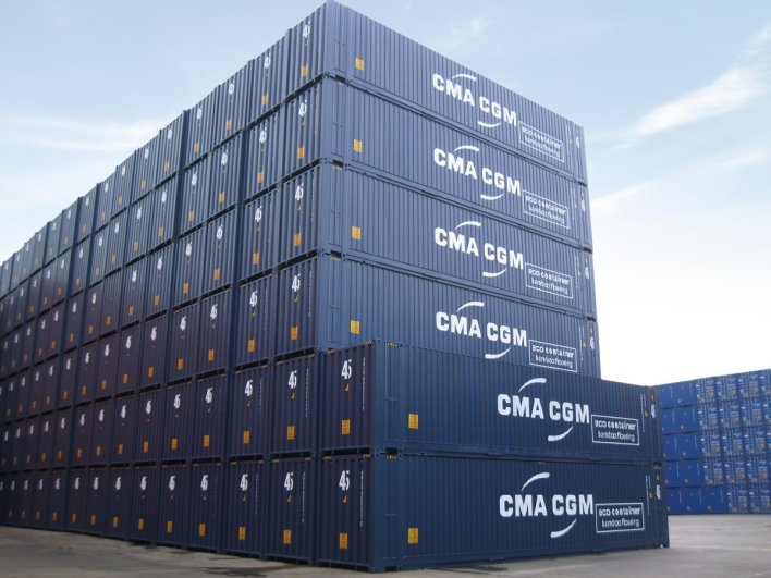 """CMA CGM Group on Twitter: """"[#FunFactsThread 3/5] CMA CGM offers no less than 20 different configurations of #containers to its customers! With that many options you can almost always find the container"""