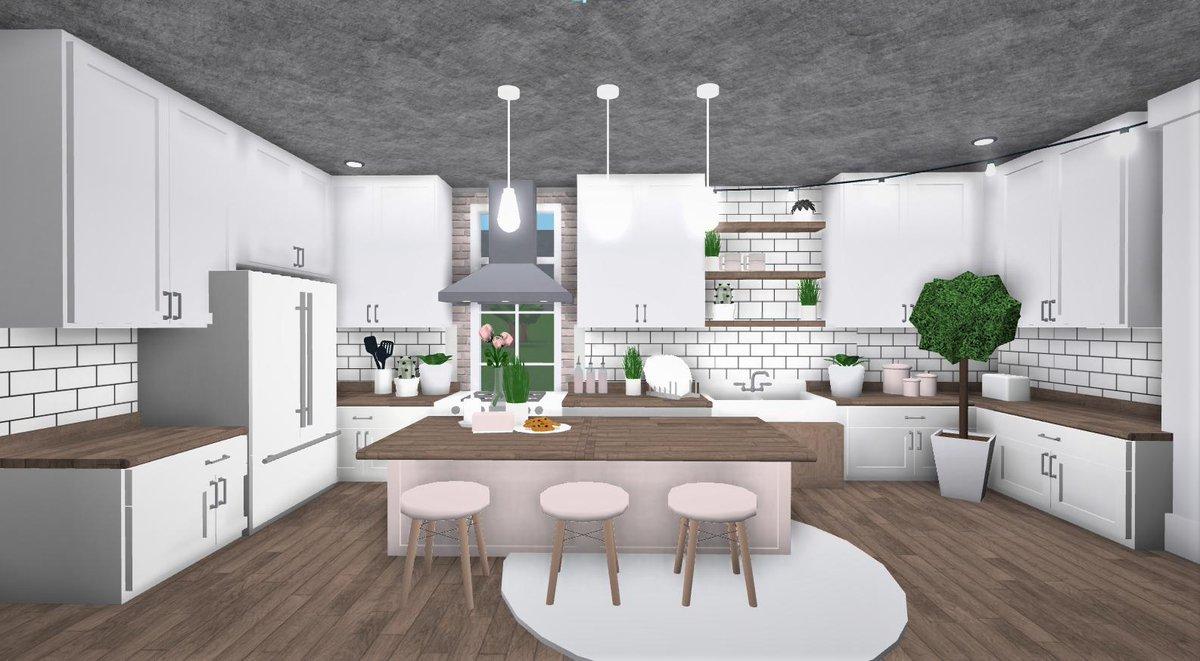 Aesthetic Bloxburg Kitchen Big Novocom Top