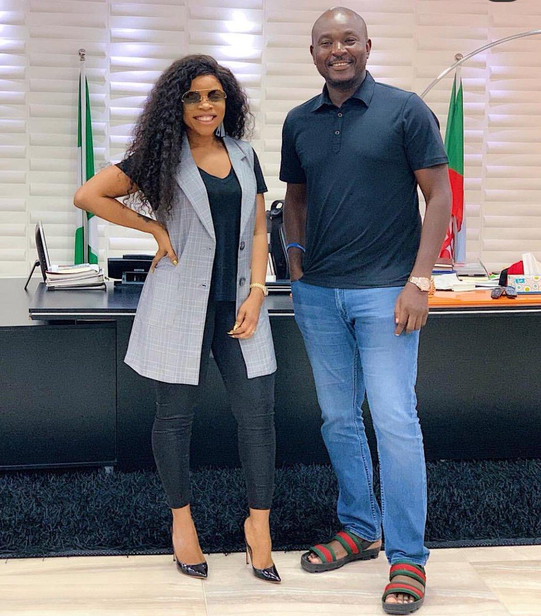 D5lPccYXoAAeG55 - Photos: Nairabet Owner, Akin Alabi, Spotted With Laura Ikeji