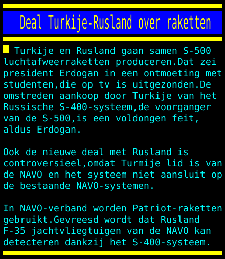 Turkije uit de NATO