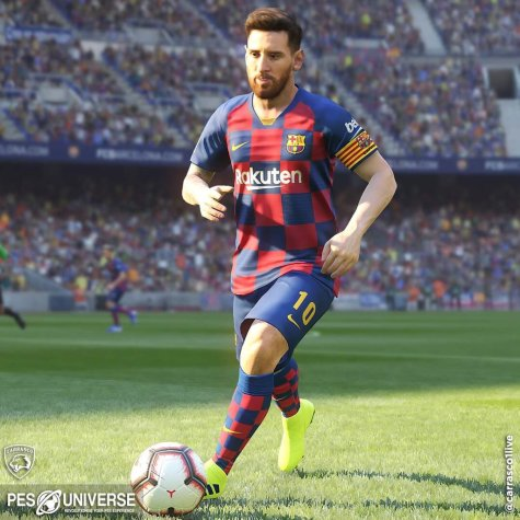 Así lucirá la camiseta titular del FC Barcelona 2019-2020 sobre el terreno de juego