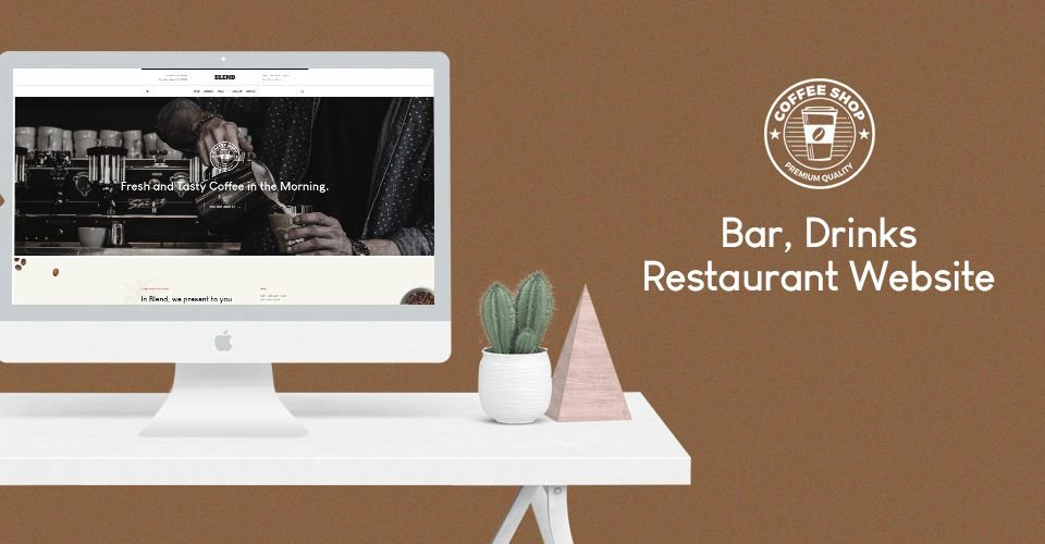 checkout our new restaurant joomla template gk blend https buff ly 2lxs3ry gk blend is a professional joomla template for bar cafe bistro drinks