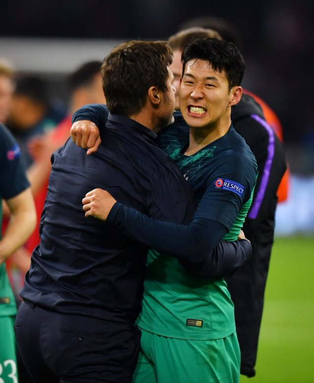 Tearful Pochettino salutes 'super-hero' Lucas after astonishing Ajax fightback