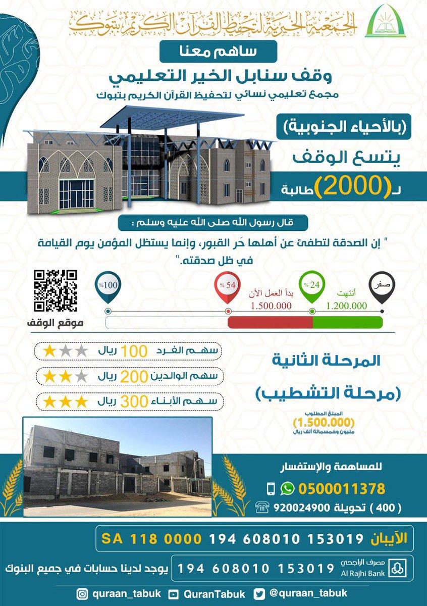 جمعية تحفيظ القرآن الكريم بتبوك On Twitter مسابقة