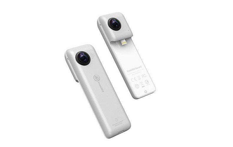 test ツイッターメディア - 【ヨドバシカメラx CINNANS】  iPhoneが360度カメラに❗ F値2.2の2000万画素の高画質📷に4K動画も360度の撮影ができるカメラ😃 https://t.co/LNgqxUuOju  iPhone📱に接続してディスプレイしながらや、本体単体での撮影も可能👆 マルチビュー機能など多彩な映像を楽しめます🎵 https://t.co/gaeLxZqEKS