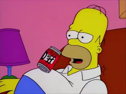 Homer Simpson S Favorite Beer Duff Hits Shelves In Official Release Daily Mail Online