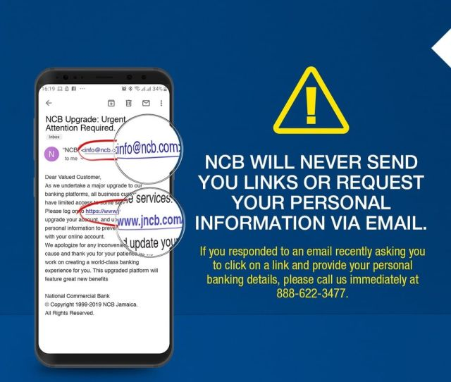Please Contact Us Asap If You Have Received Such An Email And Clicked On The Link Ncb Ncbupgradepic Twitter Com Ph6n0zd8tr
