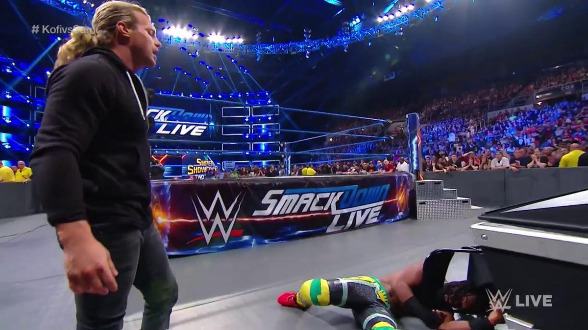 Dolph Ziggler Returns On WWE SmackDown And Attacks Kofi Kingston (Photos, Videos) - Wrestling Inc.