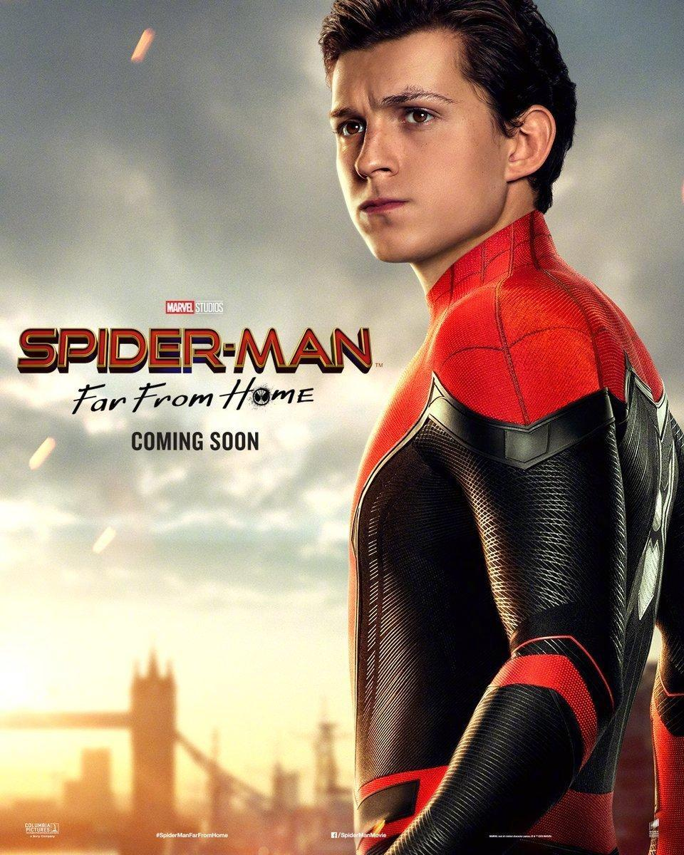 Spider-Man: Far From Home Character Posters Revealed