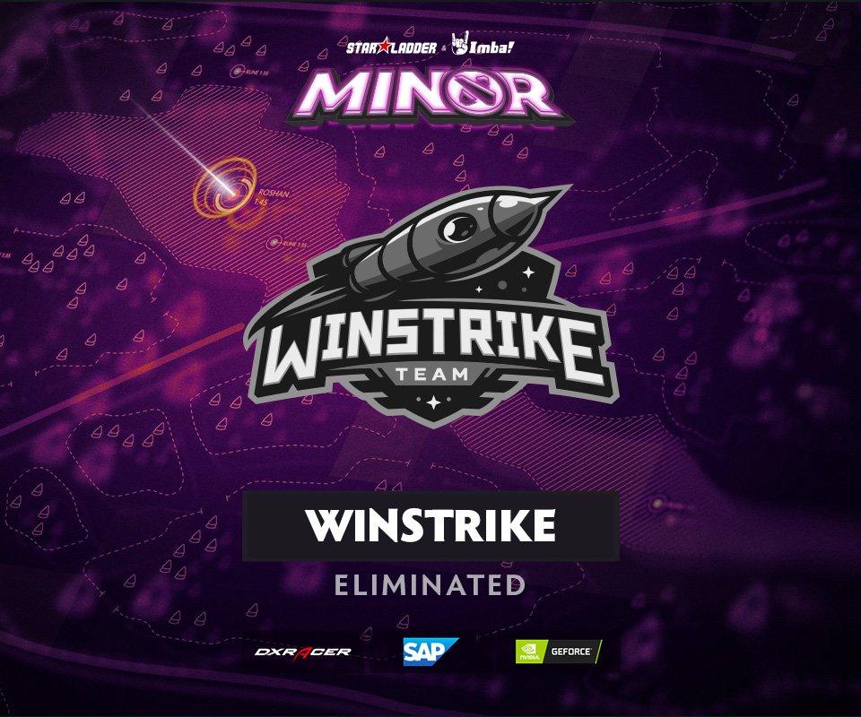 Hasil gambar Winstrike StarLadder ImbaTV Dota 2 Minor S2