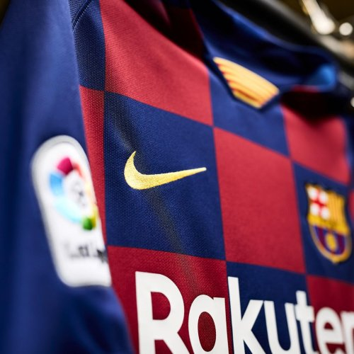 Camiseta cuadros Barcelona
