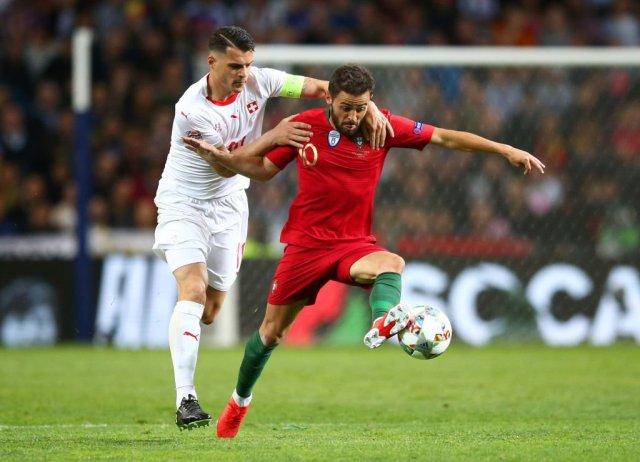 رونالدو يقود البرتغال إلى نهائي دوري الأمم بهاتريك في مرمى سويسرا 26