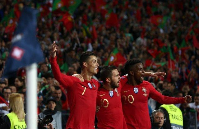 رونالدو يقود البرتغال إلى نهائي دوري الأمم بهاتريك في مرمى سويسرا 27