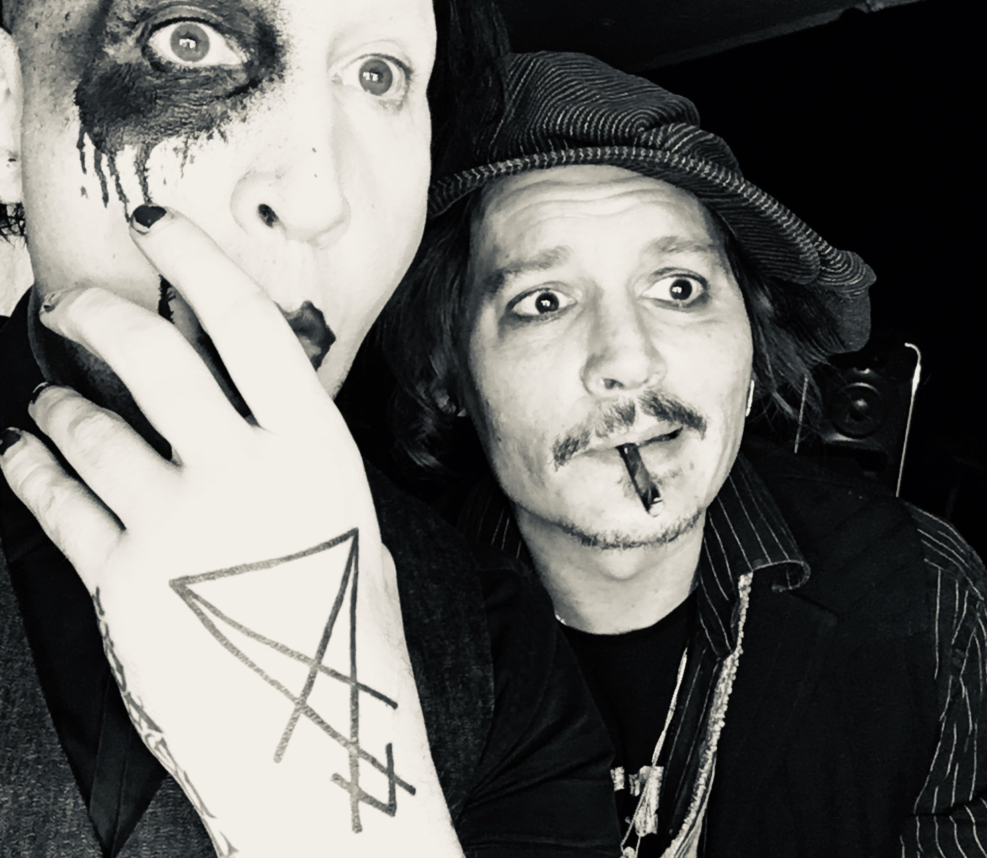 Marilyn Manson Pa Twitter Happy Birthday Jd I Ll Love You Until I Can No Longer Spell That Word Your Best Year Just Began Today