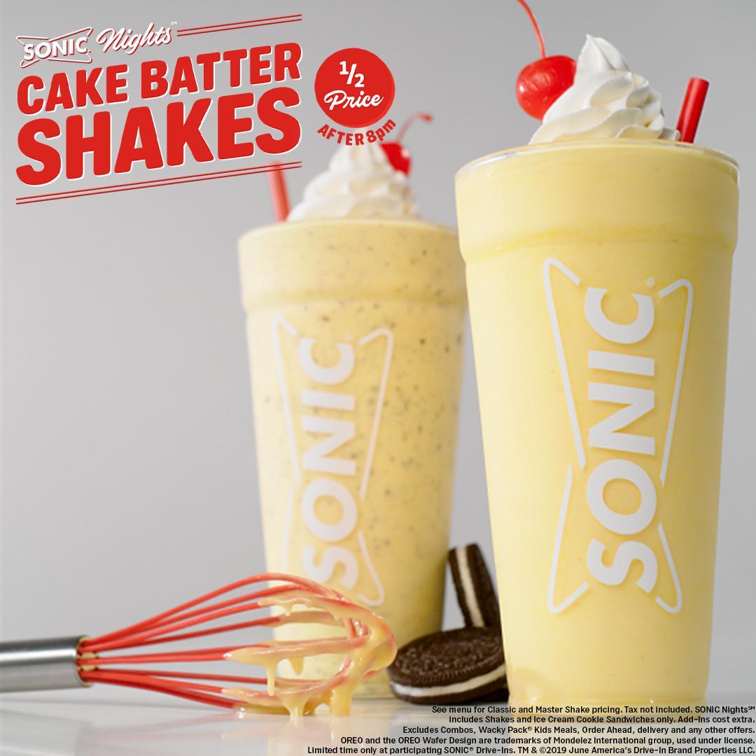 Dessert Remix Cake Batter Shakesblending Two Of Your