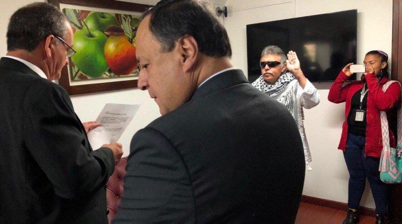 Colombia. Jesús Santrich, exnegociador de las FARC asumió como congresista
